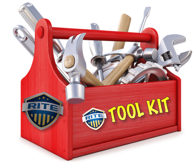 RITE Tool Kit red and yellow