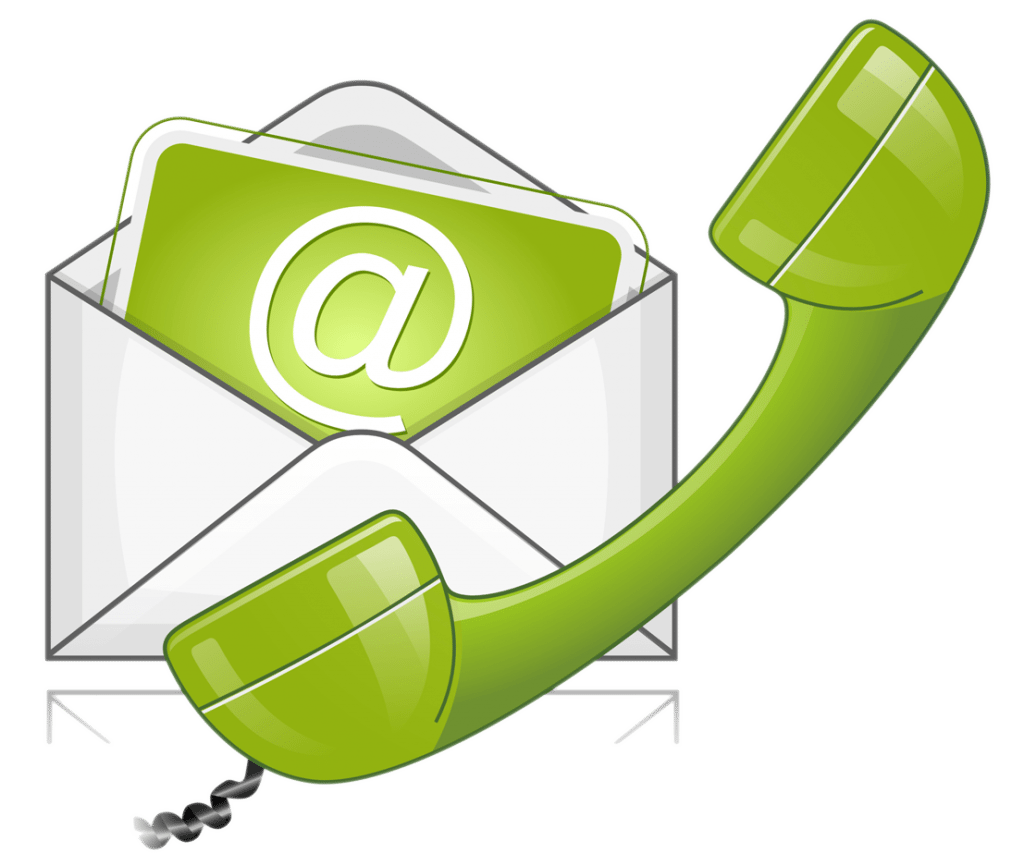 Contact Us Icon green