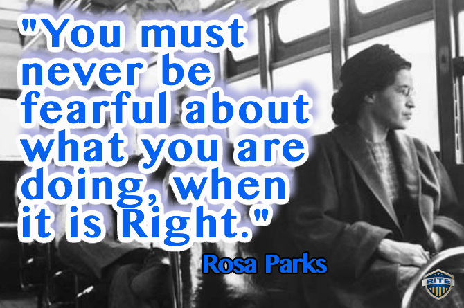 rosa parks quote_logo