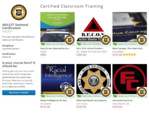 RITE is IADLEST National Certification Program