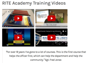 RITE training 4 videos