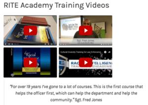 RITE training 4 videos