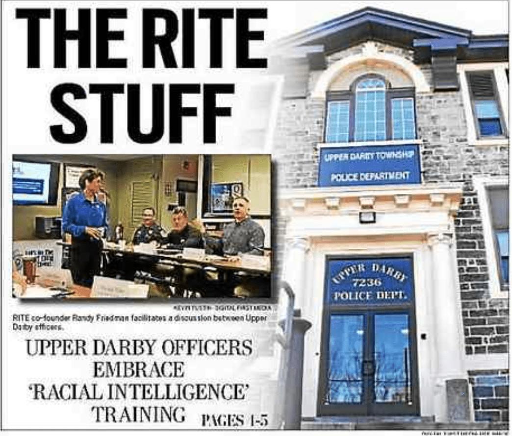 Police officers get the RITE Stuff – Officer Training in Philadelphia Fox29