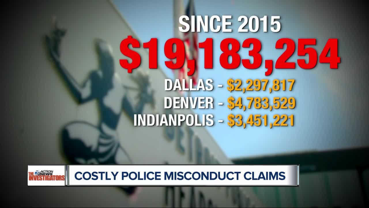 police misconduct numbers