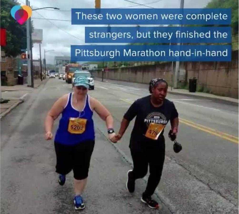 finish Pittsburgh marathon