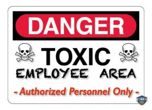 Toxic employee training