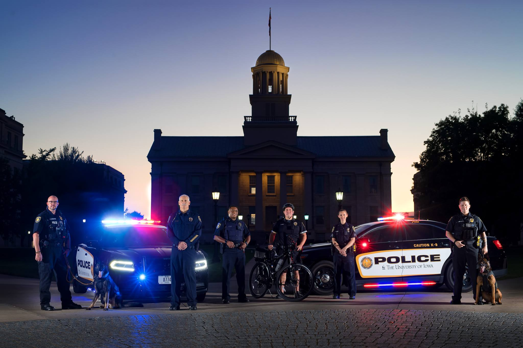 University of Iowa PD