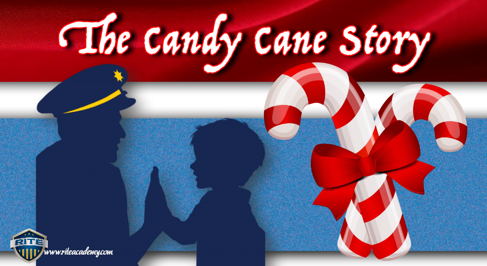 candy cane story cops and kids