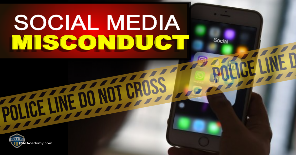 social media misconduct RITE