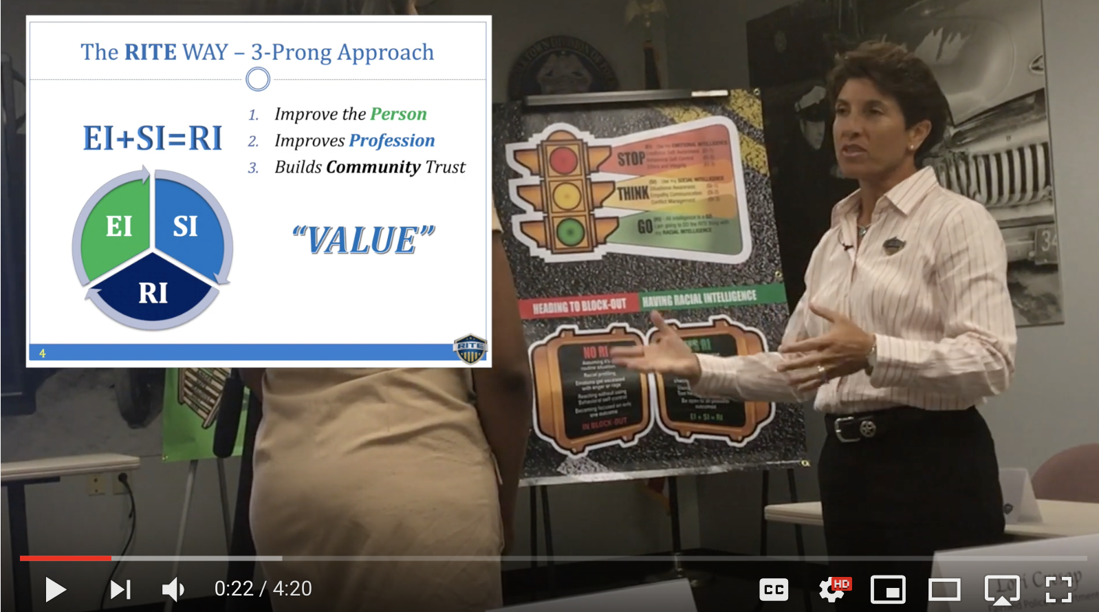 Randy Friedman explains 3 prong approach