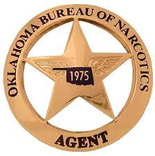 Oklahoma Bureau of Narcotic badge