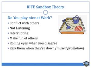RITE sandbox theory