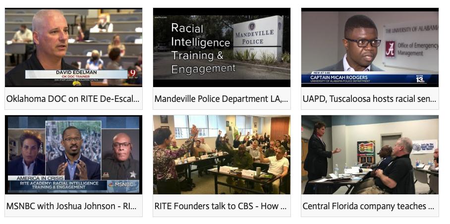 RITE media page