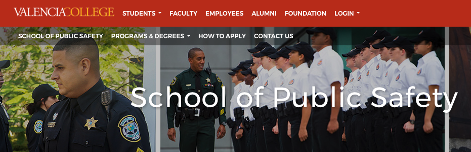 Valencia College, School of Public Safety