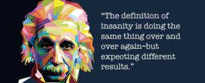 RITE racial equity definition of insanity