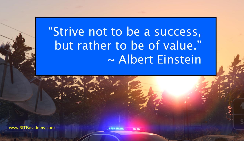 Success Value quote