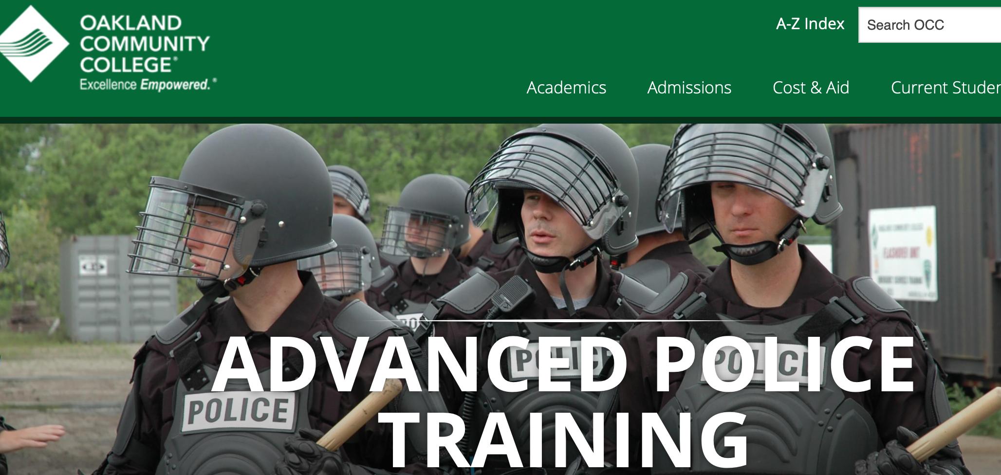 oakland police academy RITE 1